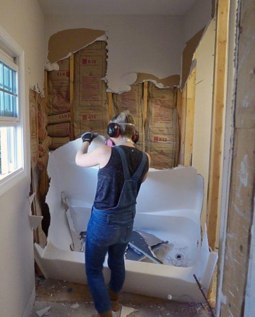 Bathroom Demolition