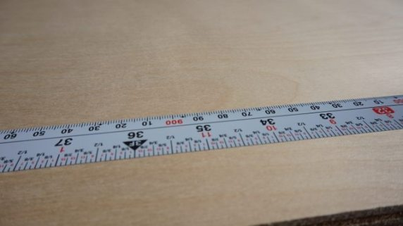 Flatback measuring tape