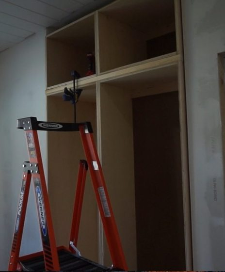 Bedroom wardrobe cabinets progress update