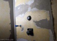 Waterproof Shower Wall Board Installation - Sawdust Girl