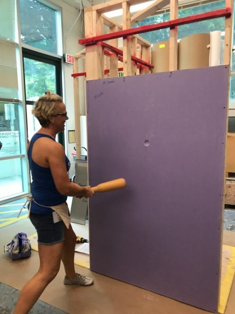 My Next Big Project With Purple Xp 174 Drywall Sawdust Girl 174