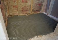 Tile Ready Shower Pan Installation - Sawdust Girl