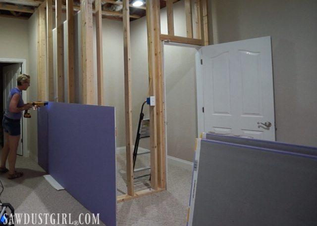 Installing PURPLE XP Drywall