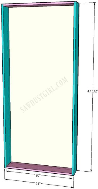 in-wall cabinet woodworking plans