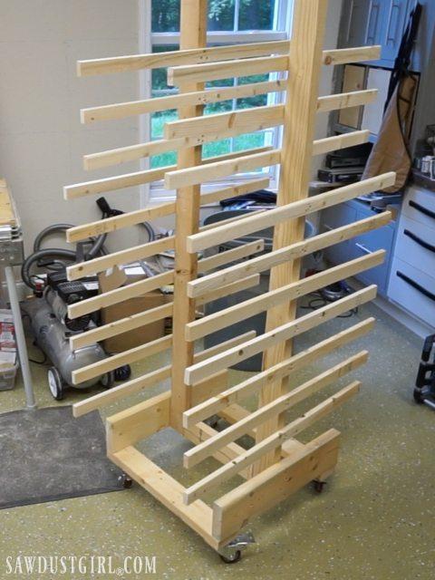 Custom Cabinet Door Drying Rack Style