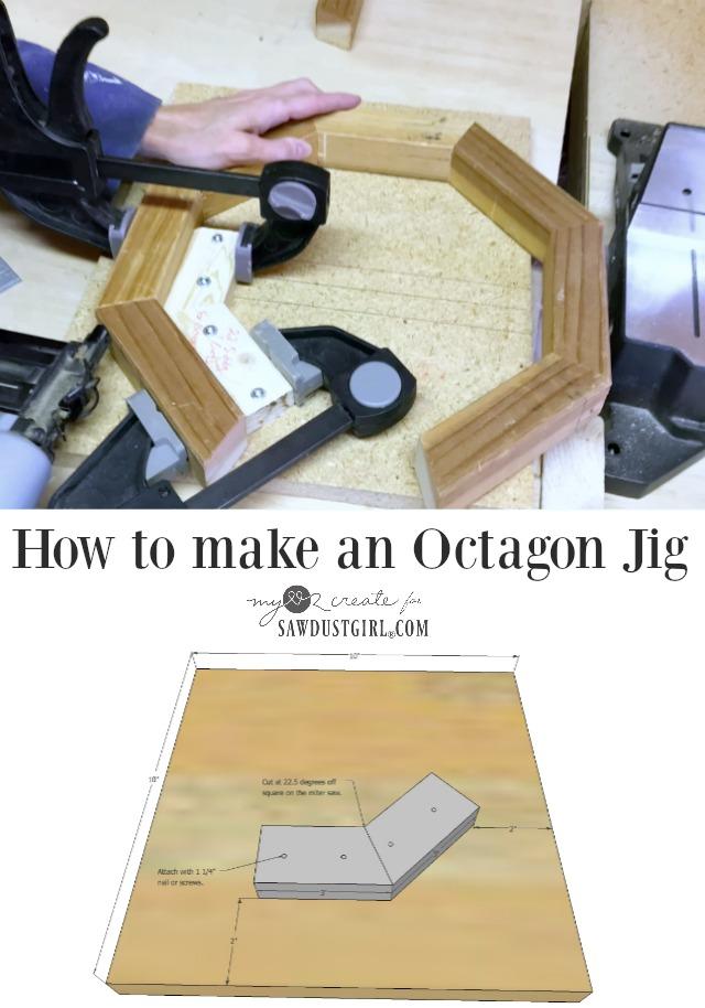 How to make an octagon jig