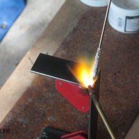 How to Braze - Brazing Metal Centerpiece Brackets