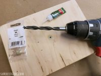 DIY Table Lamp - Make Your Own Lamp - Sawdust Girl