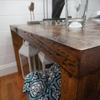 DIY Tables - Two Nightstands for the Guest Bedroom