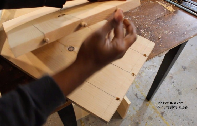 Working With Dowel Joints Sawdust Girl 174
