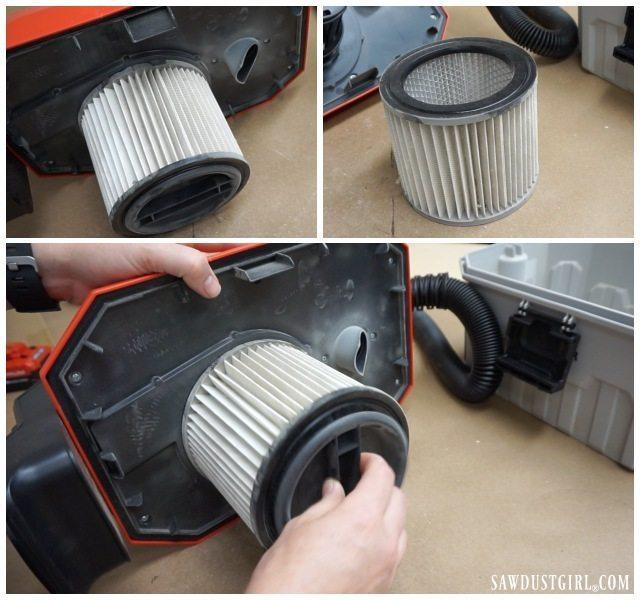 Porter-Cable PCC795B cartridge filter