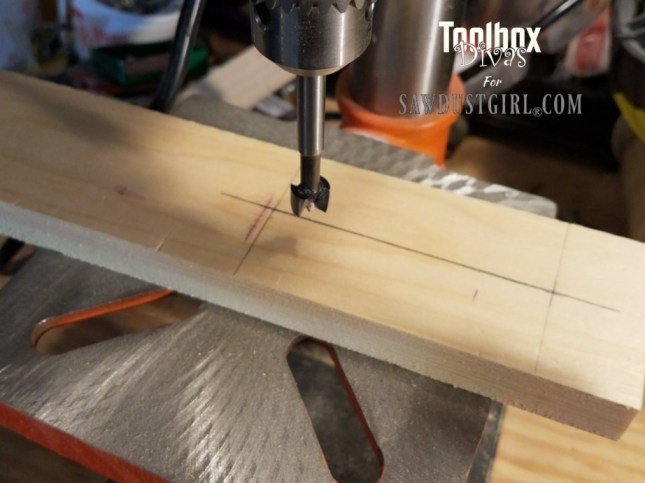Dado Jig for Ryobi Palm Router 4 - Toolbox Divas for Sawdust Girl