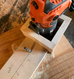 DIY router circle jig
