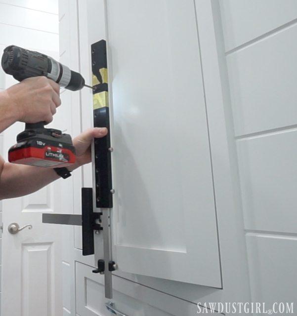 True Position Cabinet Hardware Jig