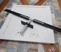 Cabinet Hardware Jig - for Long Door Pulls - Sawdust Girl