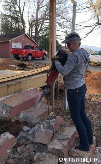 80 pound jack hammer