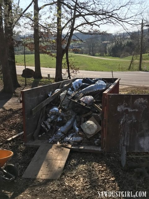 Dumpster day