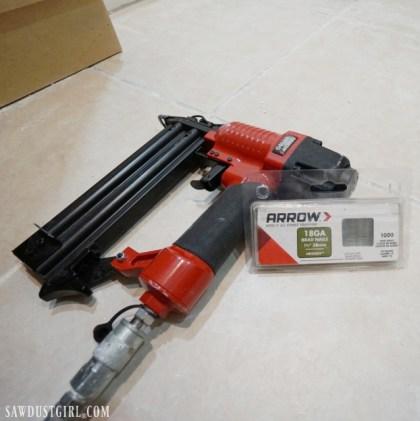 Arrow Fastener 18 ga nail gun