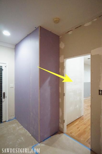 Creating a sound barrier between walls