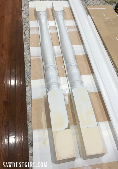 custom legs for cooktop cabinet