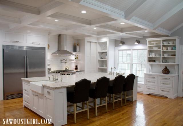 Giant kitchen island