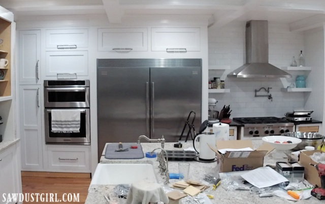 Cabinet doors that lift up and stay open