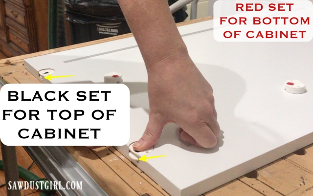 Tutorial for installing sliding cabinet doors