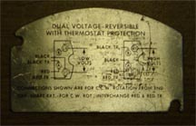 Ac Electric Motor Wiring Diagram Plate Emerson Electric Motor Basics