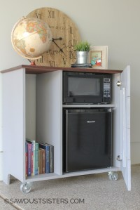 Mini Fridge Cabinet Storage - Cabinet Designs