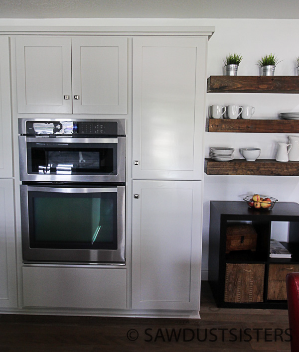Grey Stained Knotty Alder Cabinets