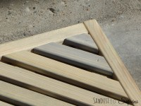 DIY WORKSHOP - WOODEN DOOR MAT - Sawdust to Sequins