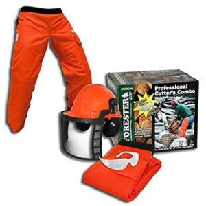 Chainsaw Safety Kit Trousers Type A Gloves And Helmet Ideal For All Users