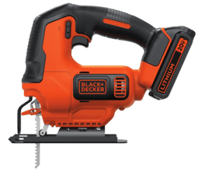 BLACKDECKER Battery operated Jigsaw