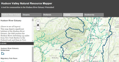 Hudson Valley Natural Resource Mapper