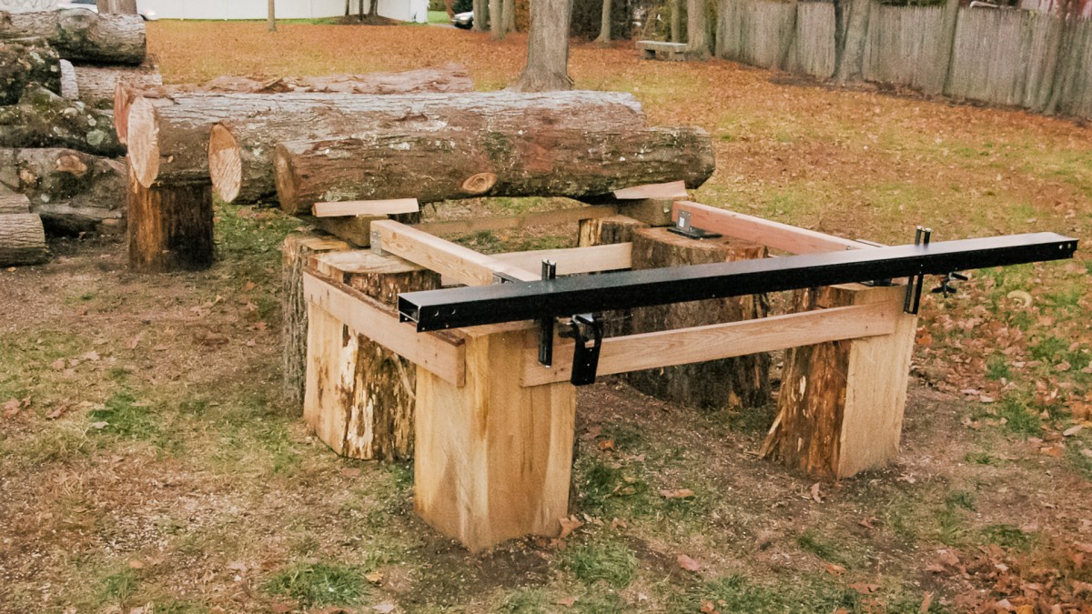 Chainsaw Mill Log Table