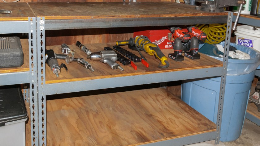 Air and Electric Tool Storage