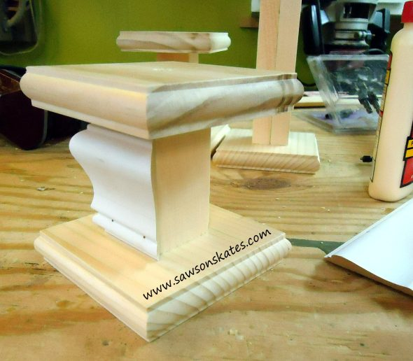 candle holder trim