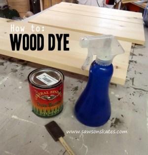 wood dye promo