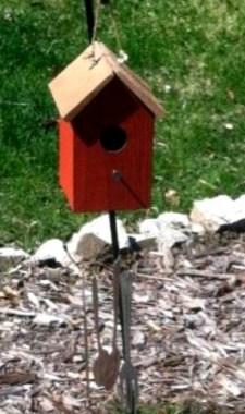 Birdhouse in Linda's Garden