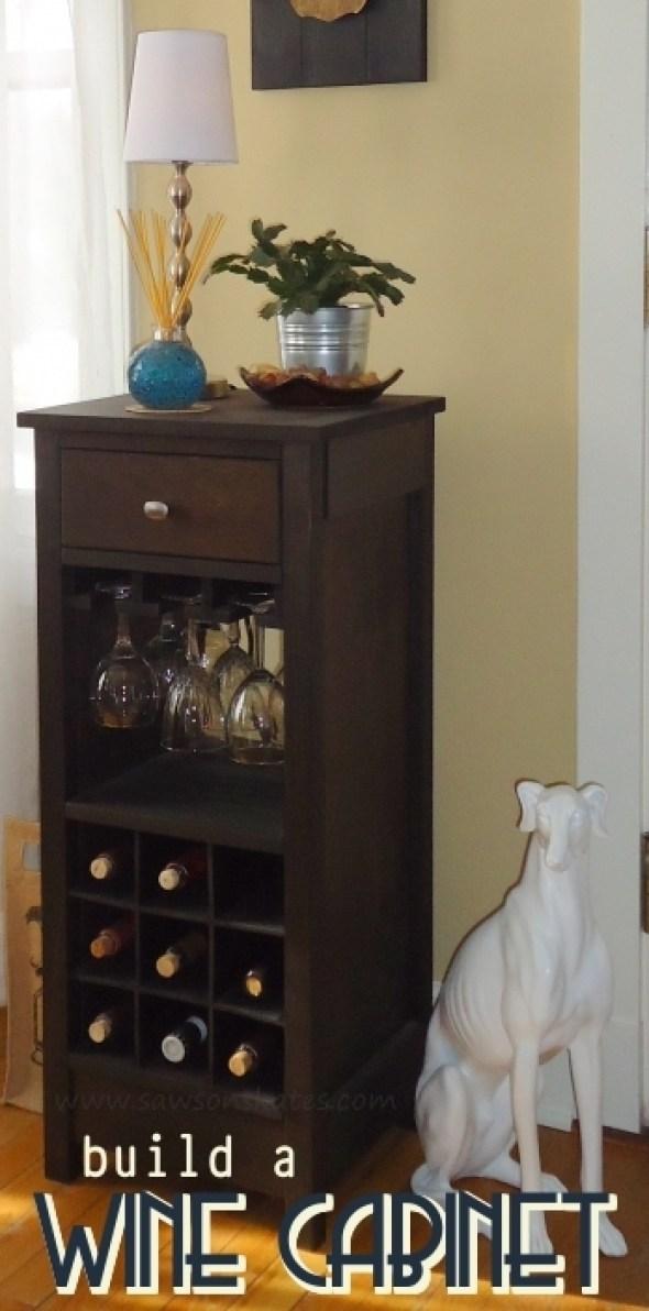 build a wine cabinet