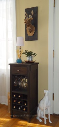 How to Build a DIY Wine Cabinet