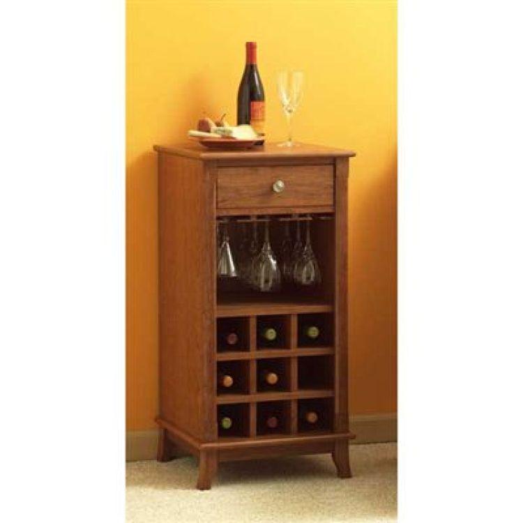 Woodcraft Wine Cabinet