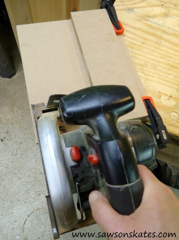 how to make a circular saw crosscut jig 9