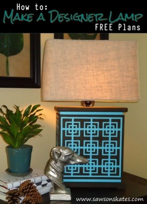 how to make a designer lamp