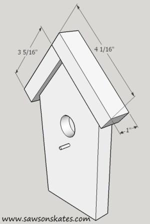 How to Make a DIY Birdhouse Address Plaque step 4 sos