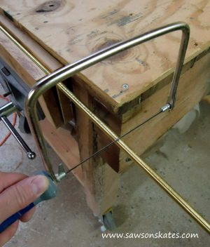 lamp cutting pipe