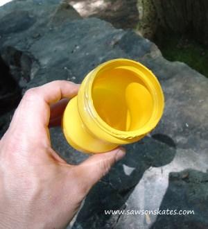 tiki yellow paint sos
