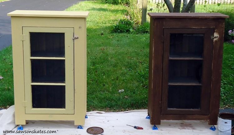 basement window cabinet finishing 1