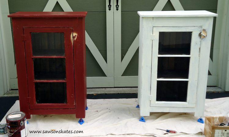 basement window cabinet finishing 2