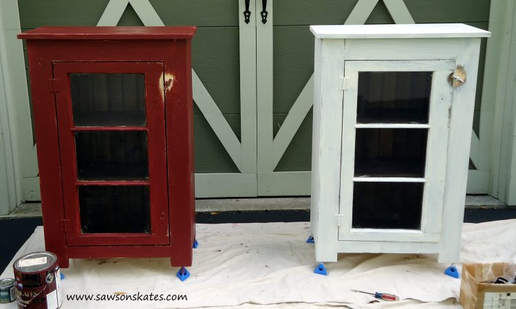 basement window cabinet finishing 2